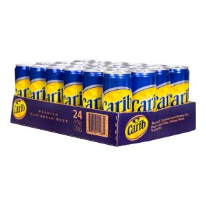 Carib Premium Lager Can 24 Case